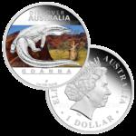 1 доллар 2012г. Пруф МДА Варан