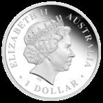 1 доллар 2012г. Пруф Монетный Двор Австралии Китовая акула