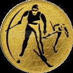 200 рублей 2010г. Пруф СПМД Лыжные гонки