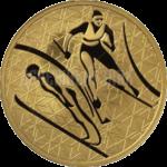 200 рублей 2010г. Пруф ММД Лыжное двоеборье