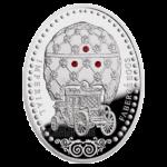 "2 доллара 2010г. Яйцо ""Коронационное"""