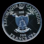 500 франков 2016г. Пруф Цвета жизни