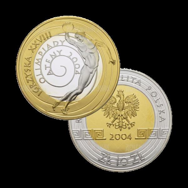 10 золотых 2004г. Пруф Олимпиада в Афинах