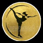 200 рублей 2009г. Пруф СПМД Фигурное катание